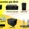 Bộ dàn karaoke gia đình 12