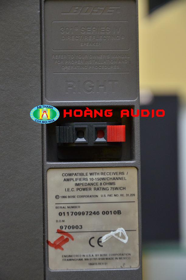 DSC 66501 Loa Bose 301 Seri IV