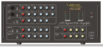 Amply california PRO 668B