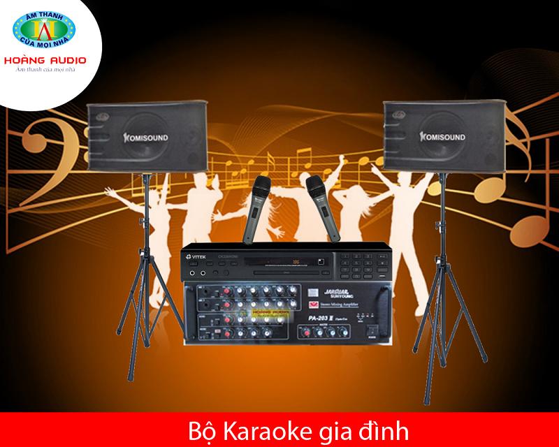 Bộ dàn karaoke HA-01