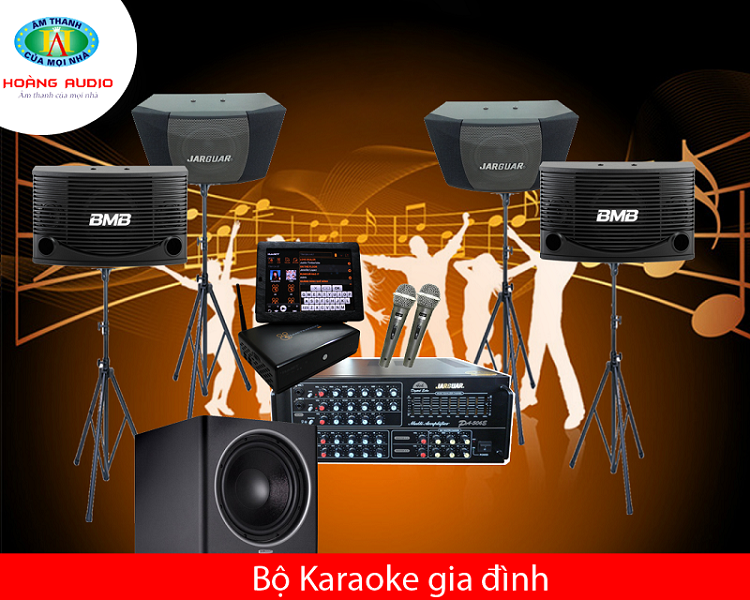bo karaoke gia dinh 16 Dàn karaoke cao cấp HA 16
