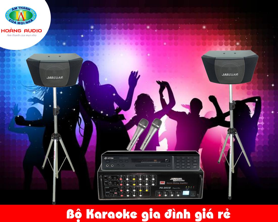 Dàn karaoke giá rẻ HA-17