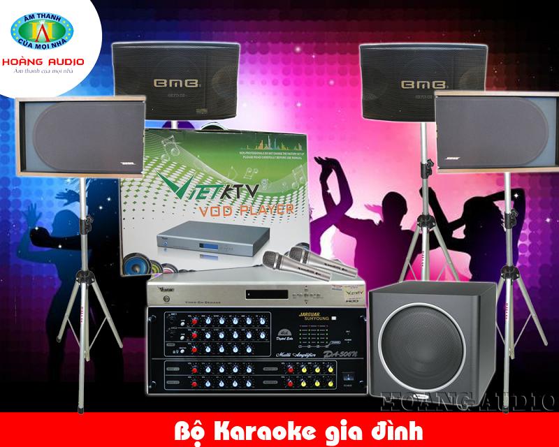 bo karaoke gia dinh 39 Dàn karaoke cao cấp HA 39