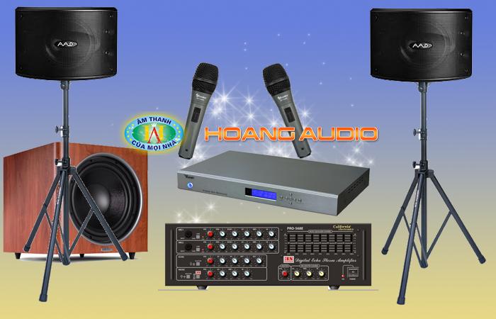 Loa karaoke aad Km10