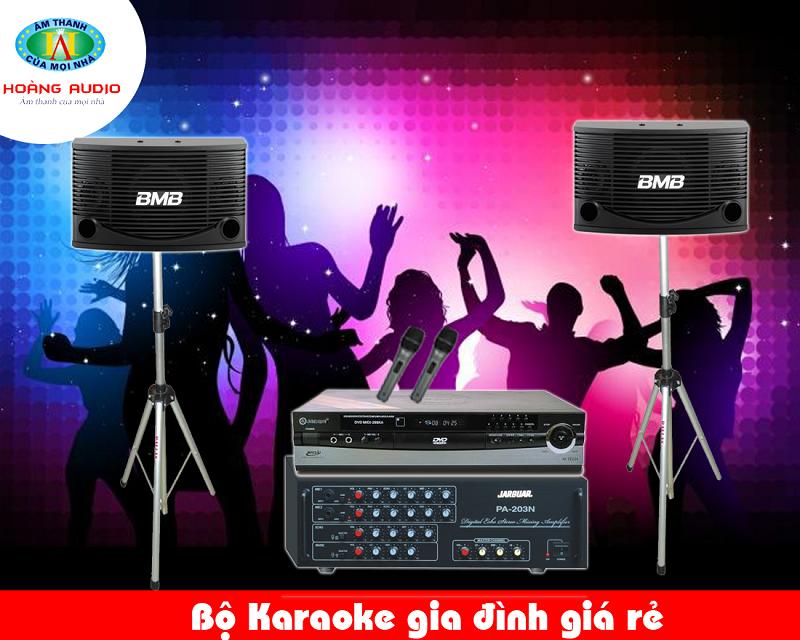 Dàn Karaoke gia đình HA-18