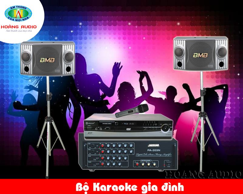 Dàn Karaoke gia đình tầm trung HA-23