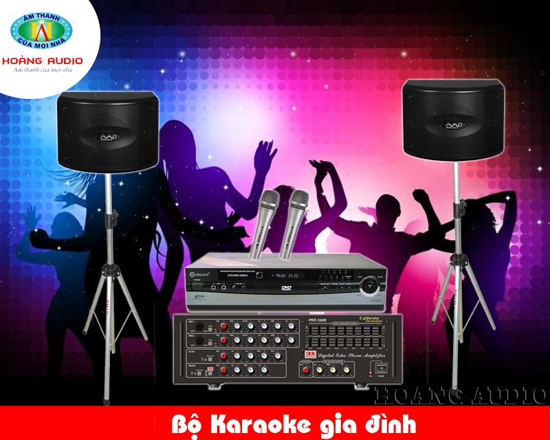 Dàn Karaoke gia đình giá rẻ HA-24