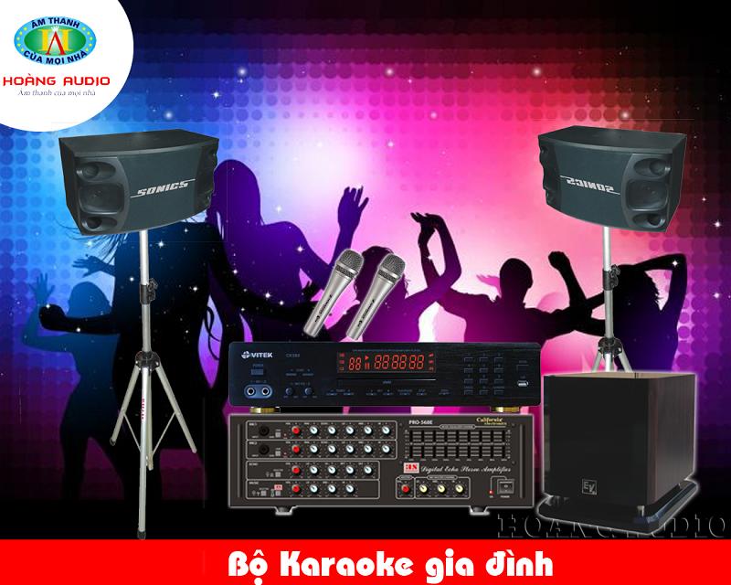 Dàn Karaoke gia đình tầm trung HA-27