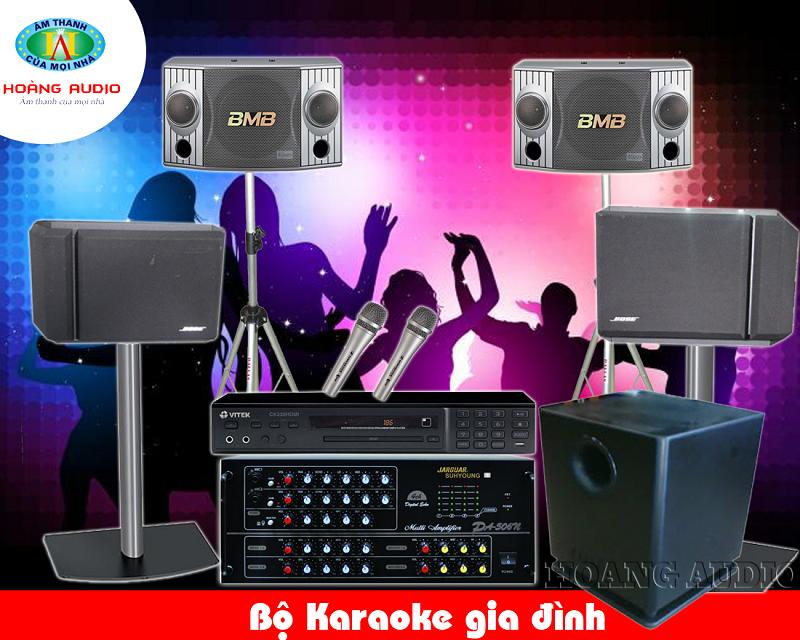 Dàn Karaoke gia đình cao cấp HA-36