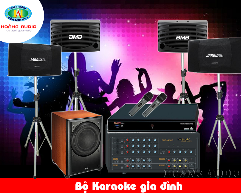 Dàn Karaoke gia đình cao cấp HA-37
