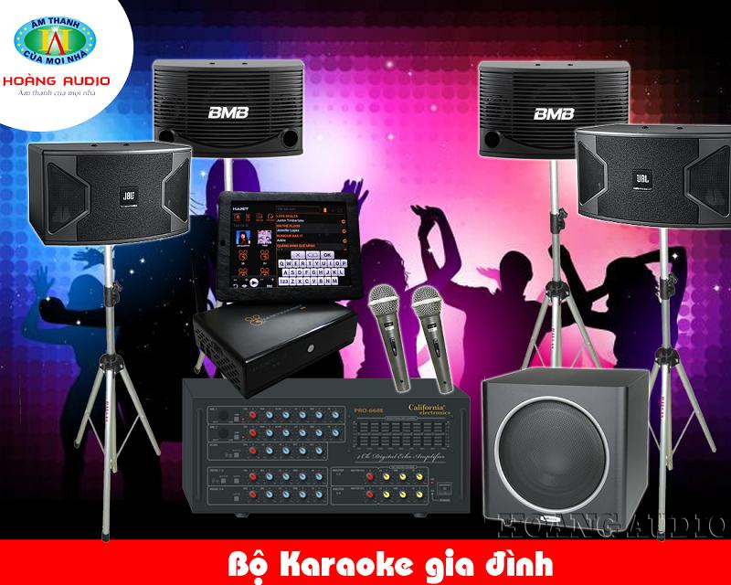 Dàn Karaoke gia đình cao cấp HA-38