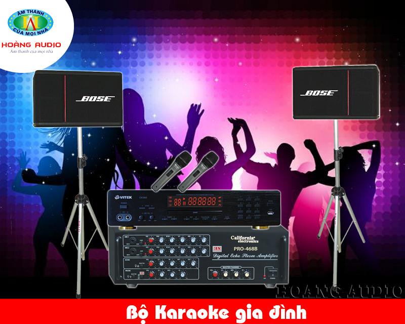 Dàn Karaoke gia đình tầm trung HA-31