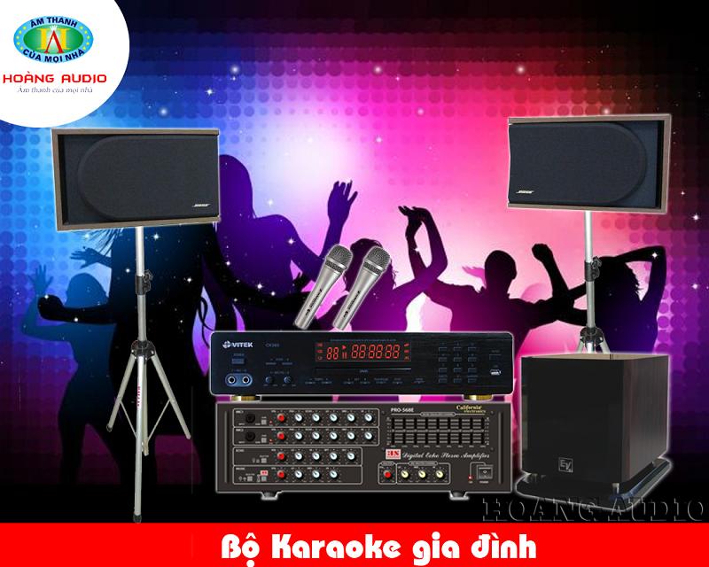 Dàn Karaoke gia đình tầm trung HA-32