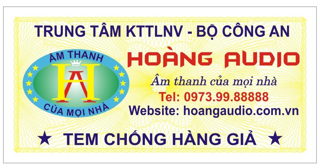 Chương trình bốc thăm trúng thưởng tại Hoang Audio
