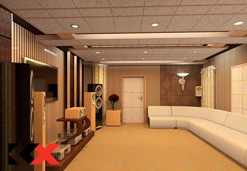 Hướng dẫn cấu hình cho phòng karaoke 25m2