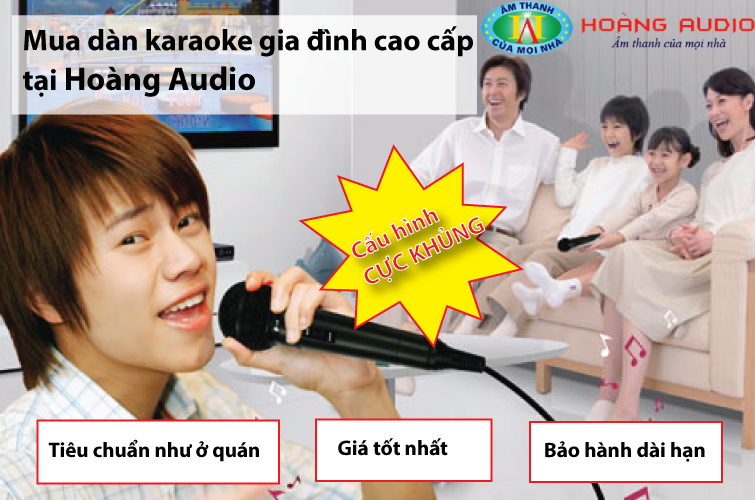 chon mua dan karaoke gia dinh cao cap 1