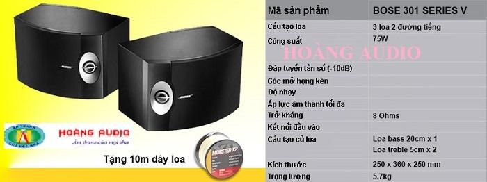 thong -so-loa-bose-301-series-v - 700