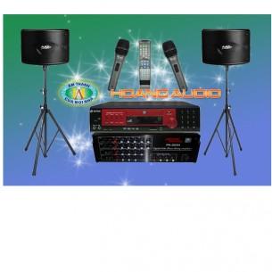 Dàn karaoke gia đình trọn bộ 19 triệu