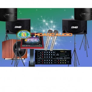 Dàn karaoke kinh doanh trọn bộ 51 triệu
