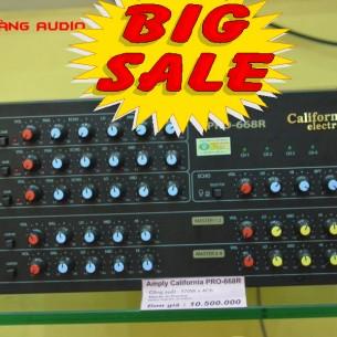Ampli karaoke California 668R (nhật hoàng)