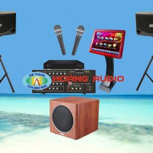 Bộ dàn karaoke gia đình HO 12