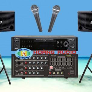 Bộ dàn karaoke gia đình HO 22