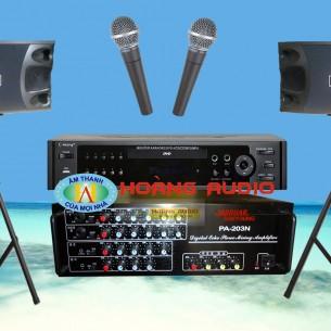 Bộ dàn karaoke gia đình HO 24