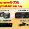 Bộ dàn karaoke gia đình Bose 01