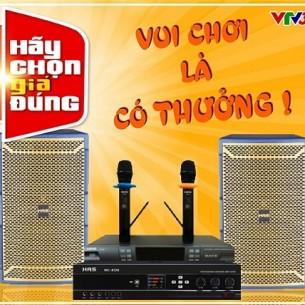 Bộ dàn karaoke HAS 4.0 trong hãy chọn giá đúng