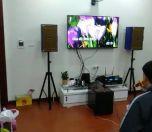 Bộ dàn karaoke gia đình nhà anh Đào tại Long Biên, Hà Nội
