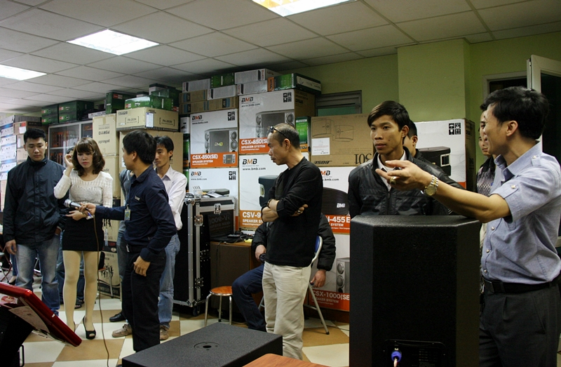 Chuong trinh khuyen mai Hoang Audio