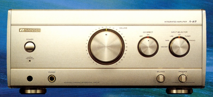 AMPLY SANSUI A-9