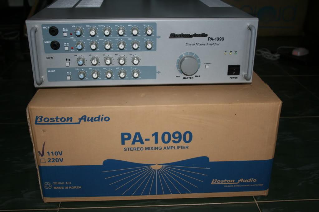 Amply Karaoke Boston PA-1090