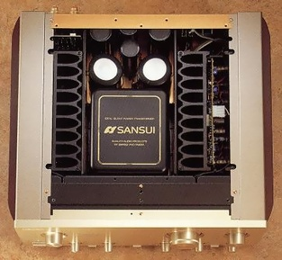 Amply sansui 907NRA