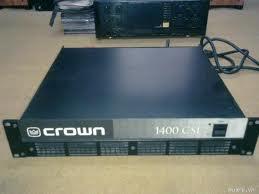 Công suất đẩy Crown 1400