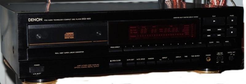 Đầu cd denon 1610