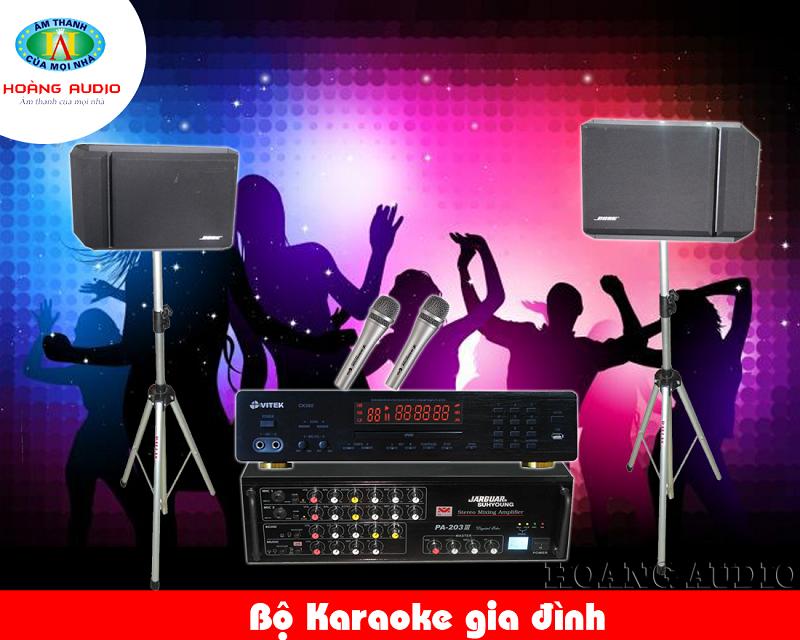 Dàn Karaoke gia đình tầm trung HA-30