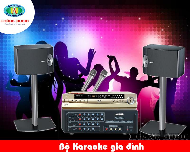 Dàn Karaoke gia đình tầm trung HA-33
