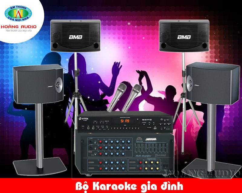 Dàn Karaoke gia đình cao cấp HA-34