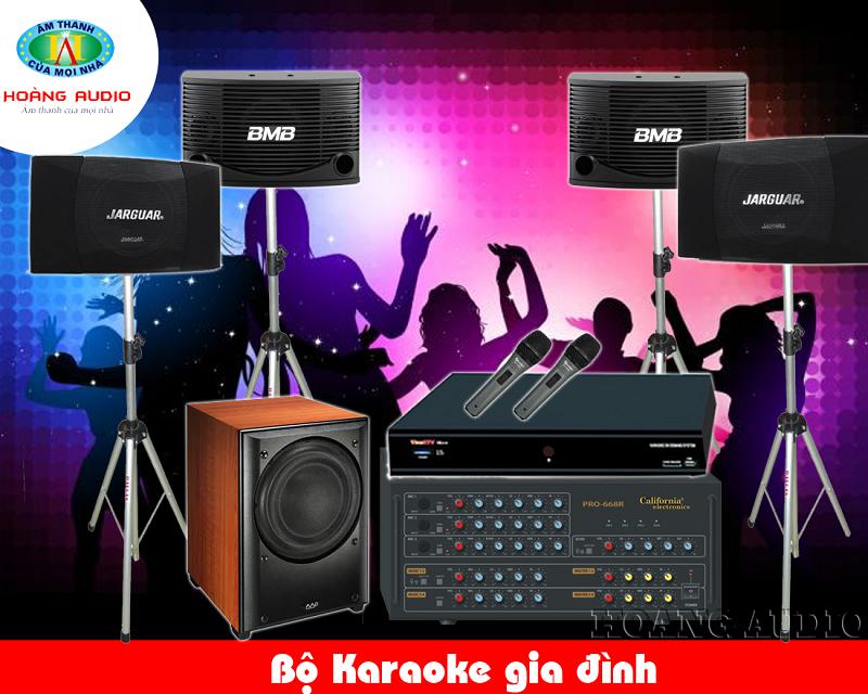 Cửa hàng bán dàn karaoke gia đình uy tín chất lượng