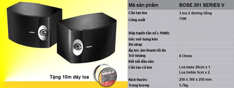 thong-so-ky-thuat-loa-bose-301-series-v